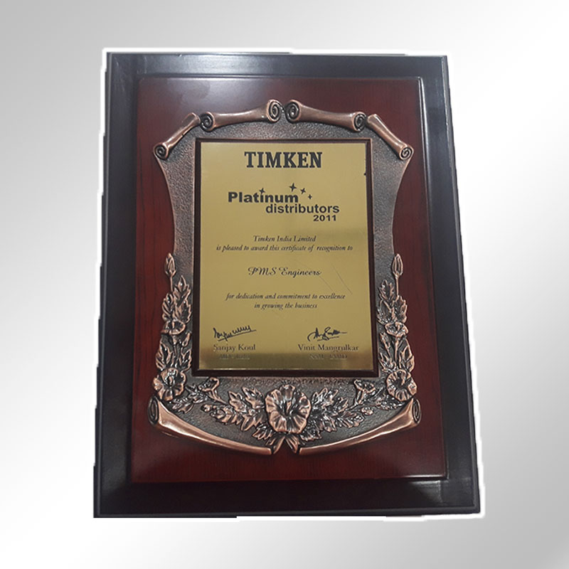 timken platinum distributor 2011