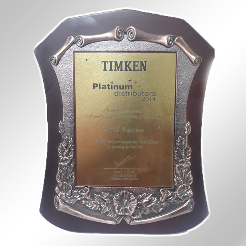 timken platinum distributors 2014